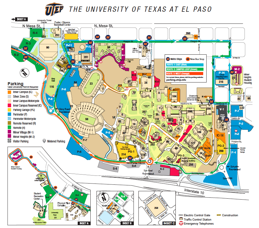 building directory utep online visitor s guide