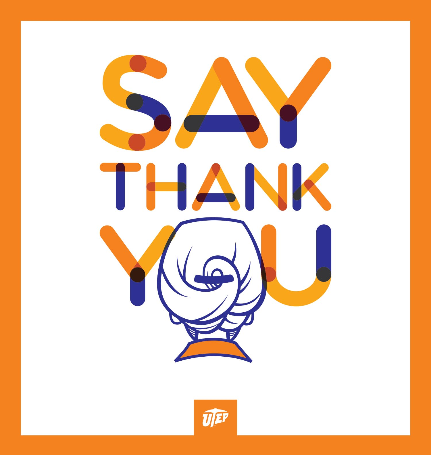 Say Thank You campaign logo