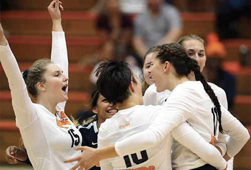 UTEP ladies' volleyball